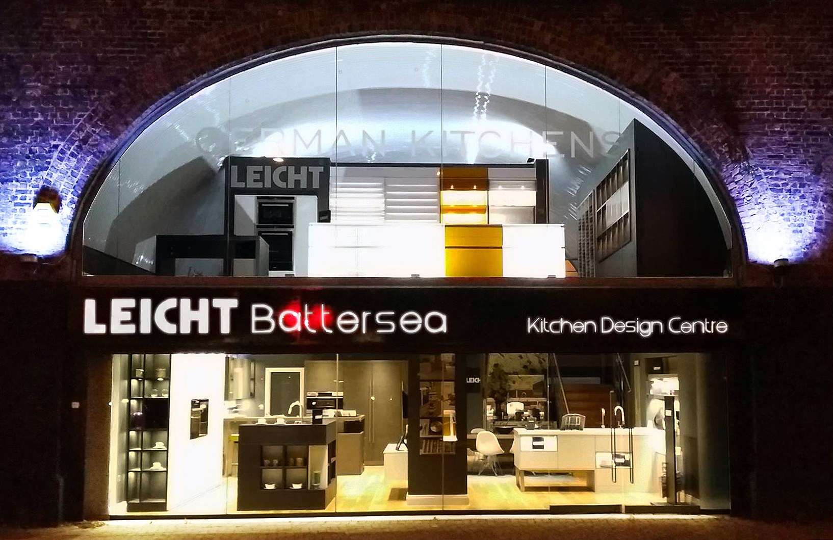 Leicht Kitchen Design Centre Battersea, London